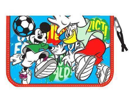 Пенал Mickey Футбол Тип F, с наполнением