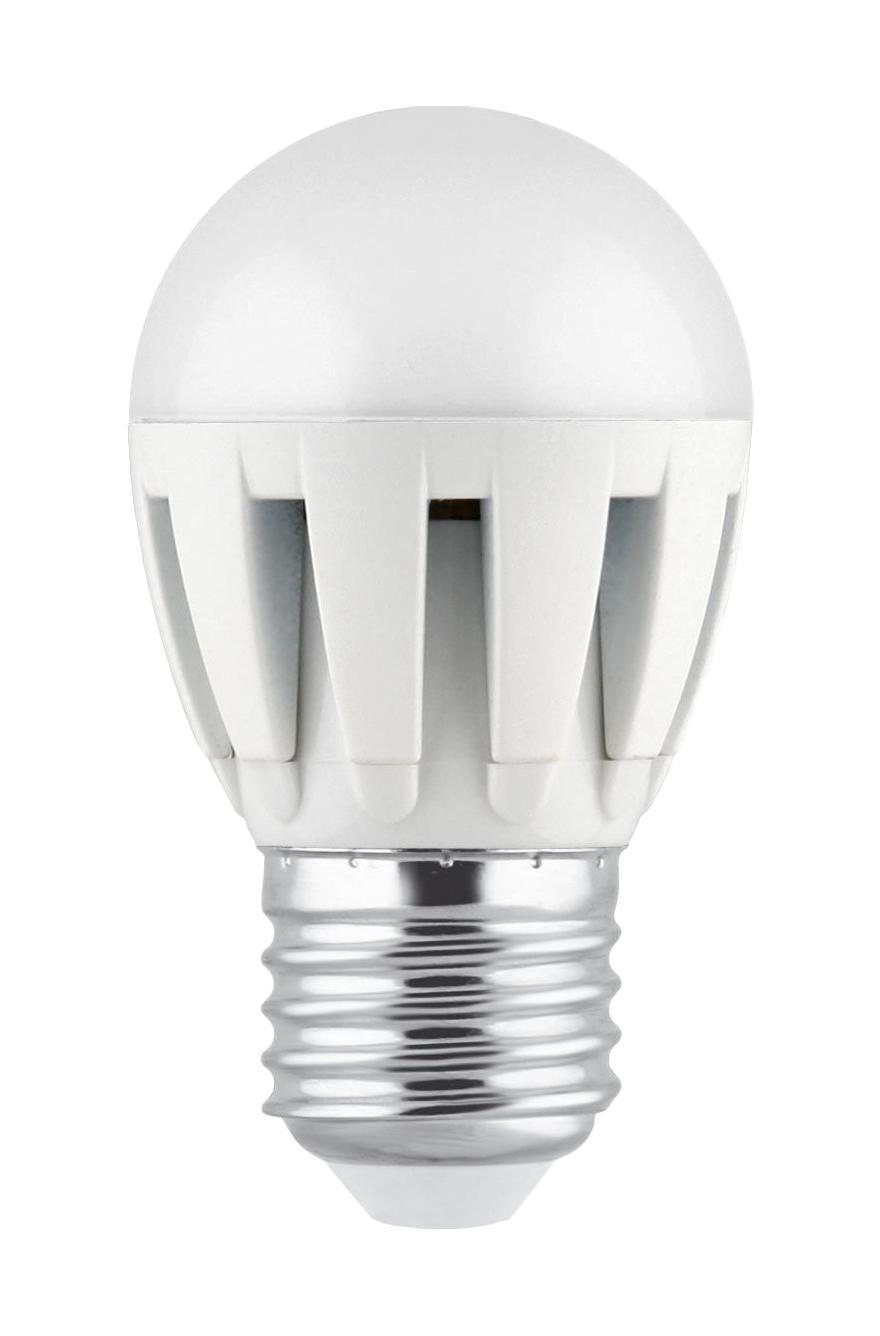 Camelion LED5.5-G45/830/E27 светодиодная лампа, 5,5ВтLED5.5-G45/830/E27Светодиодная рефлекторная лампа Camelion применяется для замены энергосберегающей лампы или лампы накаливания в точечных и направленных источниках света. При этом она сэкономит ваши деньги за счет минимального потребления электроэнергии и долгого срока службы. Так же эта лампа обладает высоким индексом цветопередачи и не мерцает, что делает ее свет комфортным для глаз. Нагрев LED лампы минимален, что позволяет использовать ее в натяжных потолках и других конструкциях, требовательных к температурному режиму. А когда она все-таки перегорит, не нужно задумываться о ее переработке, так как при производстве светодиодных ламп не используются вредные вещества, в том числе ртуть.