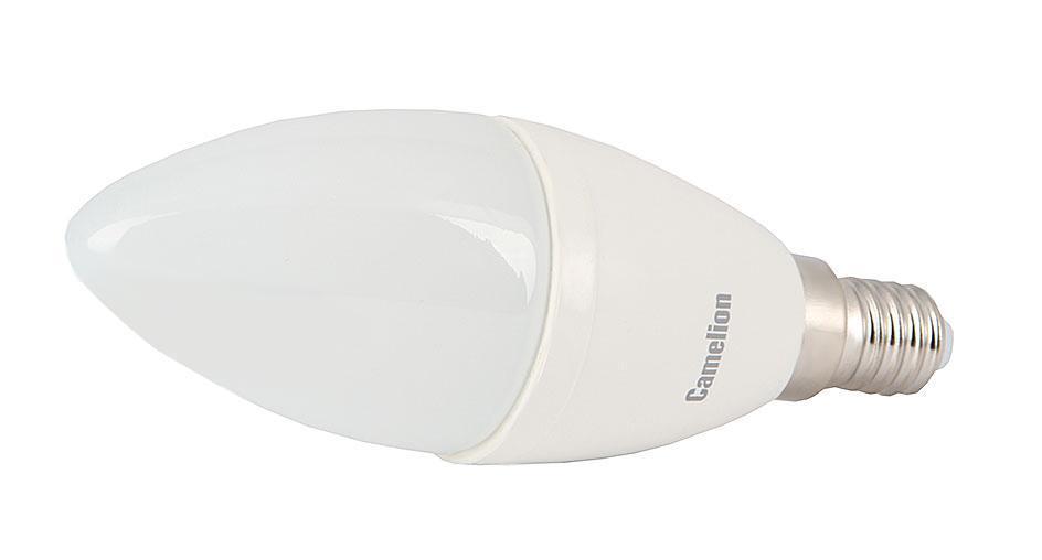 Camelion LED6.5-C35/830/E14 светодиодная лампа, 6,5ВтLED6.5-C35/830/E14Высокая вибро- и ударопрочность - отсутствуют нить накаливания и хрупкие стеклянные трубки. Широкий температурный диапазон эксплуатации (от -30 оC до +40 оC) - возможность использования ламп вне помещений. Могут применяться как для основного, так и для акцентированного освещения. Экономия электроэнергии до 90% без ущерба для освещенности и качества света по сравнению с обычными лампами накаливания такой же яркости. Мгновенное включение и выход на полную яркость. Светодиодные лампы для точечных светильников - это замена традиционных и повсеместно используемых галогенных ламп типа JCDR. Отличительной особенностью светодиодных ламп точечного света является низкое энергопотребление и почти отсутствие нагрева в процессе эксплуатации. При этом -это лампы с высоким сроком службы 30 000 - 50 000 часов. Если вы хотите экономить, и готовы на начальном этапе потратиться, тогда Ваш выбор светодиодное освещение. Если же по каким-то причинам светодиодные источники света Вас не устраивают, но...