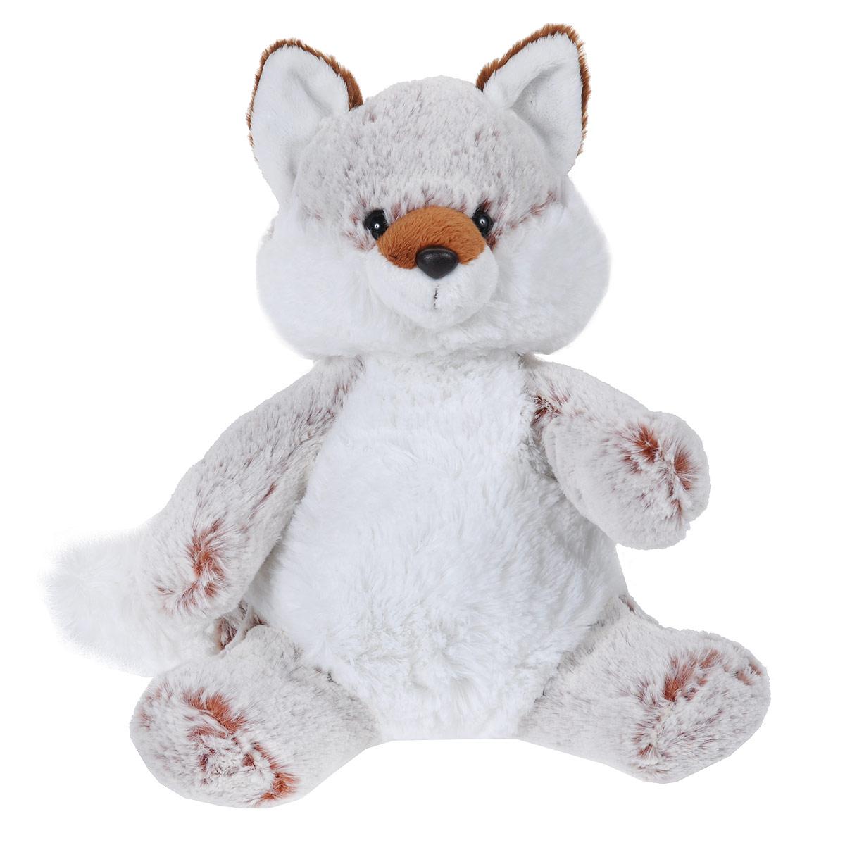 Мягкая игрушка Aurora Лиса, цвет: белый, коричневый, 30см11-022Очаровательная мягкая игрушка ручной работы Aurora Лиса вызовет умиление и улыбку у каждого, кто ее увидит. Игрушка выполнена в виде забавной лисички из высококачественного, гипоаллергенного материала с набивкой из синтепона и пластиковых гранул. Такая игрушка станет замечательным подарком, как ребенку, так и взрослому, и украсит любой интерьер. Великолепное качество исполнения делают эту игрушку чудесным подарком к любому празднику.