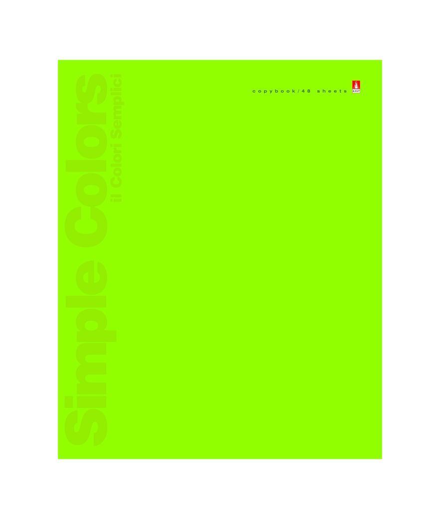 Набор тетрадей Альт Simple Colors, 48 листов, 5 шт27951Набор тетрадей Альт Простые цвета отличается универсальностью и подходит школьникам вне зависимости от пола и возраста. Тетради из этой серии выпускаются в четырех цветах обложки. Для них использован дизайнерский картон 170 грамм. Печать, произведенная красками из модели Pantone, позволила добиться интенсивных, максимально насыщенных тонов. Текстовая информация выделена с помощью выборочного УФ-лака. Данные ученика вносятся в выделенное поле. Блоки на скрепках состоят из 48 листов, а высококачественная белая бумага подходит для любых чернил. Линовка отличается четкостью, совпадает с обеих сторон листа. Поля отмечены красным цветом.