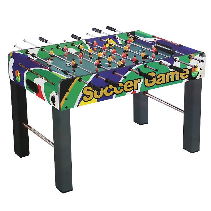 Игра настольная Huang Guan Футбол, цвет: зеленый, размер: 121х61х79 см. 2032В2032В