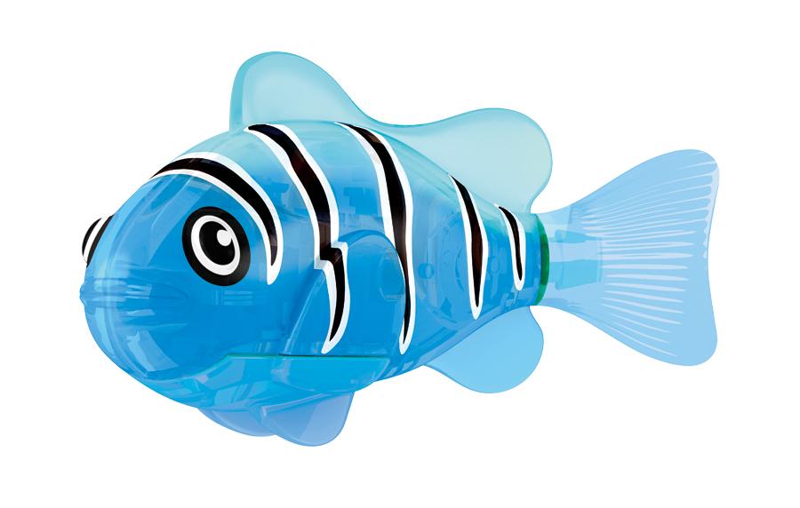 Игрушка для ванны Robofish Светодиодная РобоРыбка: Синий маяк, цвет: синий2541AИгрушка для ванны Robofish Светодиодная РобоРыбка понравится вашему малышу и превратит купание в веселую игру. Она выполнена из безопасного пластика с элементами металла в виде маленькой красочной рыбки. Игрушка прекрасно имитирует повадки настоящей рыбы. Траектория ее движения зависит от наклона хвоста. При соприкосновении с водой она начинает не только плавать, но и светиться. В целях экономии энергии игрушка отключается автоматически через 4 минуты. Для активации рыбки вытащите ее из воды на несколько секунд, а затем снова запустите в воду. Внутри рыбки находится специальный грузик, регулирующий глубину ее погружения. Если рыбка плавает на дне, не всплывая, - уберите грузик; если на поверхности - добавьте грузик. Набор включает подставку, на которой можно разместить рыбку, пока вы с ней не играете. Порадуйте вашего ребенка таким замечательным подарком! Игрушка работает от 2 батарей напряжением 1,5V типа LR44 (2 установлены в игрушку и 2 запасные).