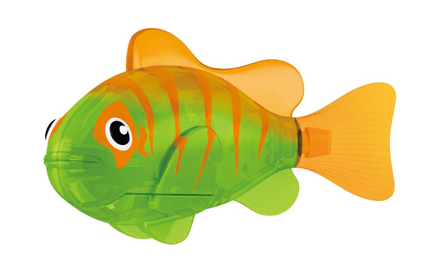 Игрушка для ванны Robofish Светодиодная РобоРыбка: Гловер, цвет: зеленый, оранжевый2541BИгрушка для ванны Robofish Светодиодная РобоРыбка понравится вашему малышу и превратит купание в веселую игру. Она выполнена из безопасного пластика с элементами металла в виде маленькой красочной рыбки. Игрушка прекрасно имитирует повадки настоящей рыбы. Траектория ее движения зависит от наклона хвоста. При соприкосновении с водой она начинает не только плавать, но и светиться. В целях экономии энергии игрушка отключается автоматически через 4 минуты. Для активации рыбки вытащите ее из воды на несколько секунд, а затем снова запустите в воду. Внутри рыбки находится специальный грузик, регулирующий глубину ее погружения. Если рыбка плавает на дне, не всплывая, - уберите грузик; если на поверхности - добавьте грузик. Набор включает подставку, на которой можно разместить рыбку, пока вы с ней не играете. Порадуйте вашего ребенка таким замечательным подарком! Игрушка работает от 2 батарей напряжением 1,5V типа LR44 (2 установлены в игрушку и 2 запасные).