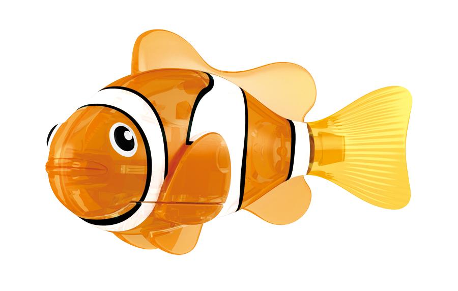 Игрушка для ванны Robofish Светодиодная РобоРыбка: Красная сирена, цвет: оранжевый, белый2541CИгрушка для ванны Robofish Светодиодная РобоРыбка понравится вашему малышу и превратит купание в веселую игру. Она выполнена из безопасного пластика с элементами металла в виде маленькой красочной рыбки. Игрушка прекрасно имитирует повадки настоящей рыбы. Траектория ее движения зависит от наклона хвоста. При соприкосновении с водой она начинает не только плавать, но и светиться. В целях экономии энергии игрушка отключается автоматически через 4 минуты. Для активации рыбки вытащите ее из воды на несколько секунд, а затем снова запустите в воду. Внутри рыбки находится специальный грузик, регулирующий глубину ее погружения. Если рыбка плавает на дне, не всплывая, - уберите грузик; если на поверхности - добавьте грузик. Набор включает подставку, на которой можно разместить рыбку, пока вы с ней не играете. Порадуйте вашего ребенка таким замечательным подарком! Игрушка работает от 2 батарей напряжением 1,5V типа LR44 (2 установлены в игрушку и 2 запасные).