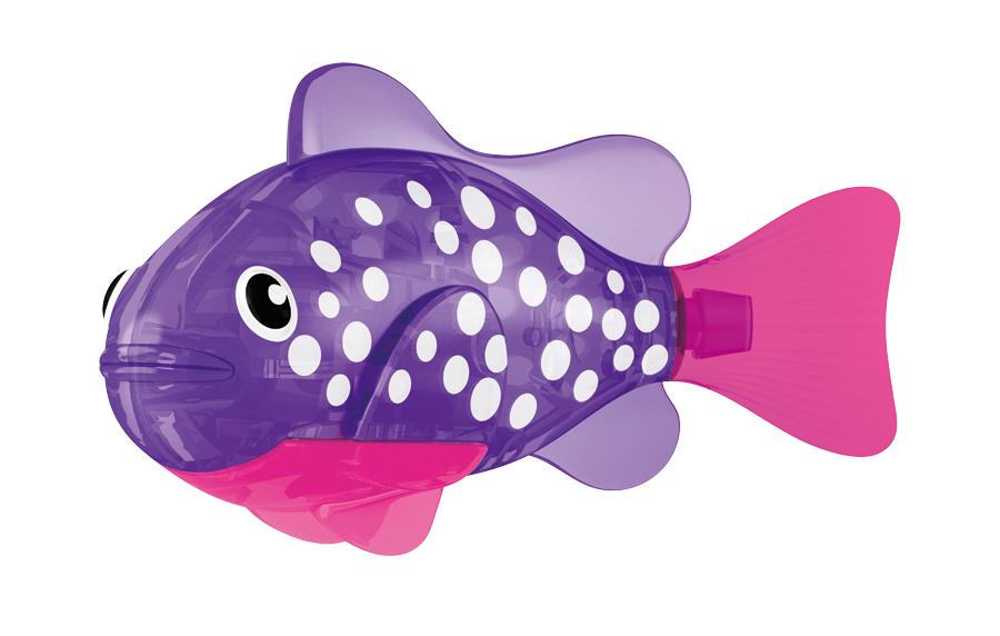 Игрушка для ванны Robofish Светодиодная РобоРыбка: Биоптик, цвет: фиолетовый, розовый2541EИгрушка для ванны Robofish Светодиодная РобоРыбка понравится вашему малышу и превратит купание в веселую игру. Она выполнена из безопасного пластика с элементами металла в виде маленькой красочной рыбки. Игрушка прекрасно имитирует повадки настоящей рыбы. Траектория ее движения зависит от наклона хвоста. При соприкосновении с водой она начинает не только плавать, но и светиться. В целях экономии энергии игрушка отключается автоматически через 4 минуты. Для активации рыбки вытащите ее из воды на несколько секунд, а затем снова запустите в воду. Внутри рыбки находится специальный грузик, регулирующий глубину ее погружения. Если рыбка плавает на дне, не всплывая, - уберите грузик; если на поверхности - добавьте грузик. Набор включает подставку, на которой можно разместить рыбку, пока вы с ней не играете. Порадуйте вашего ребенка таким замечательным подарком! Игрушка работает от 2 батарей напряжением 1,5V типа LR44 (2 установлены в игрушку и 2 запасные).