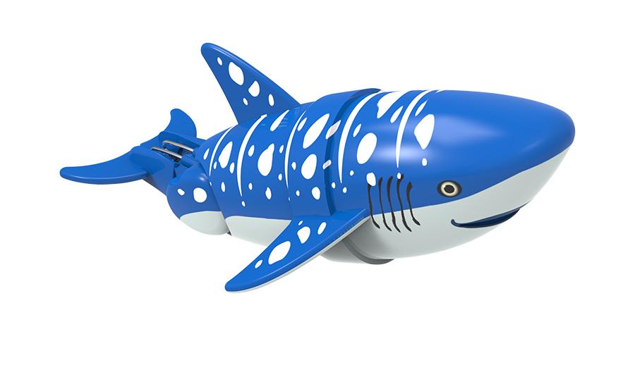 Игрушка для ванны Renwood Акула-акробат Вэйлон, цвет: синий, серый126212-2Игрушка для ванны Renwood Акула-акробат понравится вашему малышу и превратит купание в веселую игру. Она выполнена из безопасного пластика с элементами металла в виде маленькой красочной акулы. Рыбка-акробат умеет плавать и нырять. Траектория движения акулы зависит от наклона хвоста. Порадуйте вашего ребенка таким замечательным подарком! Игрушка работает от 2 батарей напряжением 1,5V типа ААА (не входят в комплект).