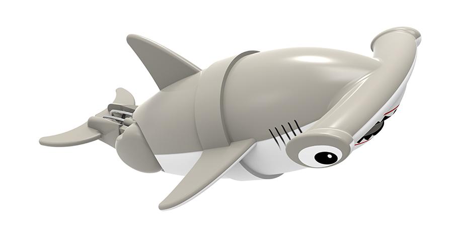 Игрушка для ванны Renwood Акула-акробат Хэмми, цвет: бежевый, белый126212-3Игрушка для ванны Renwood Акула-акробат понравится вашему малышу и превратит купание в веселую игру. Она выполнена из безопасного пластика с элементами металла в виде маленькой красочной акулы. Рыбка-акробат умеет плавать и нырять. Траектория движения акулы зависит от наклона хвоста. Порадуйте вашего ребенка таким замечательным подарком! Игрушка работает от 2 батарей напряжением 1,5V типа ААА (не входят в комплект).