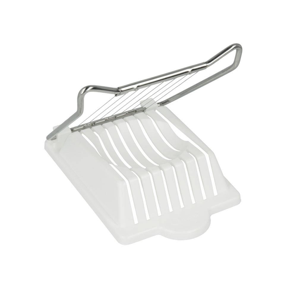 Сырорезка Metaltex, для сыра Моцарелла25.57.00Сырорезка Metaltex выполнена из пластика и нержавеющей стали. Действует сырорезка довольно просто: сыр кладется на подставку и плавно разрезается струнами на кусочки. С такой сырорезкой ваш сыр всегда будет идеально порезан на кусочки нужного размера.