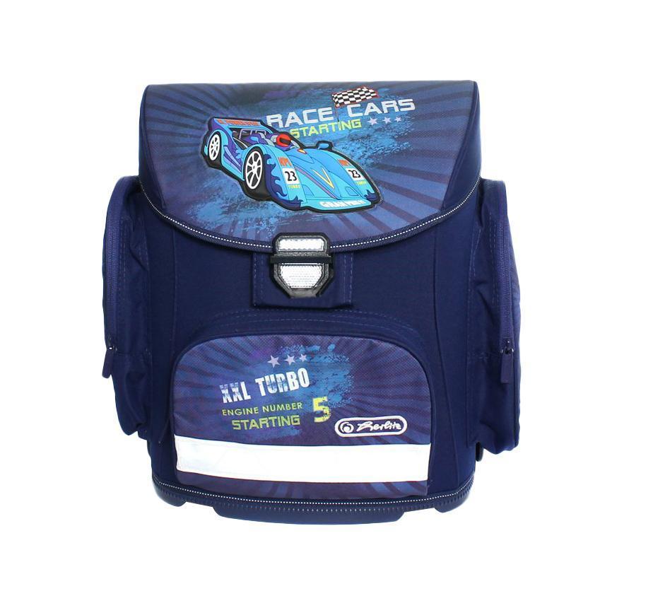 Рюкзак детский Herlitz Flexi FLEXI PLUS RACE CARS11350857Ранец Flexi - это вместительный ранец с продуманными внутренними отделениями, иновационной системой регулировки лямок, соответствующих весу и росту ребенка и магнитным замком Smart Lock. -Светоотражающие элементы повысят безопасность ребенка в темное время .