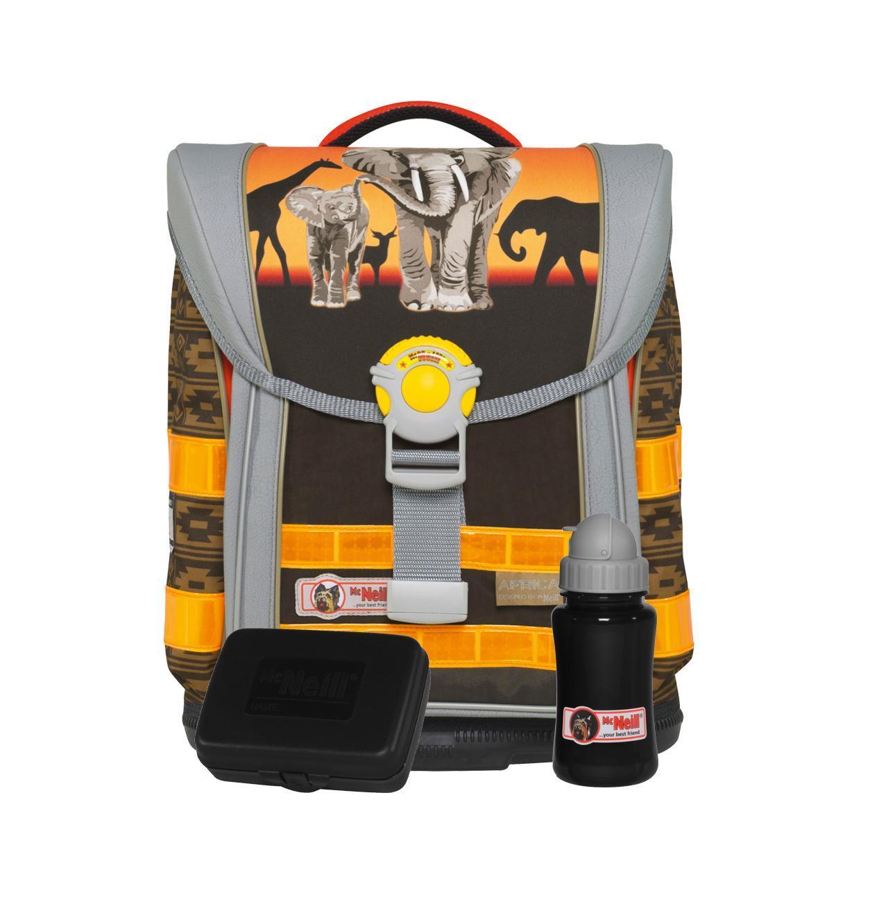 Рюкзак детский McNeill ERGO Light Плюс Африка9598140000