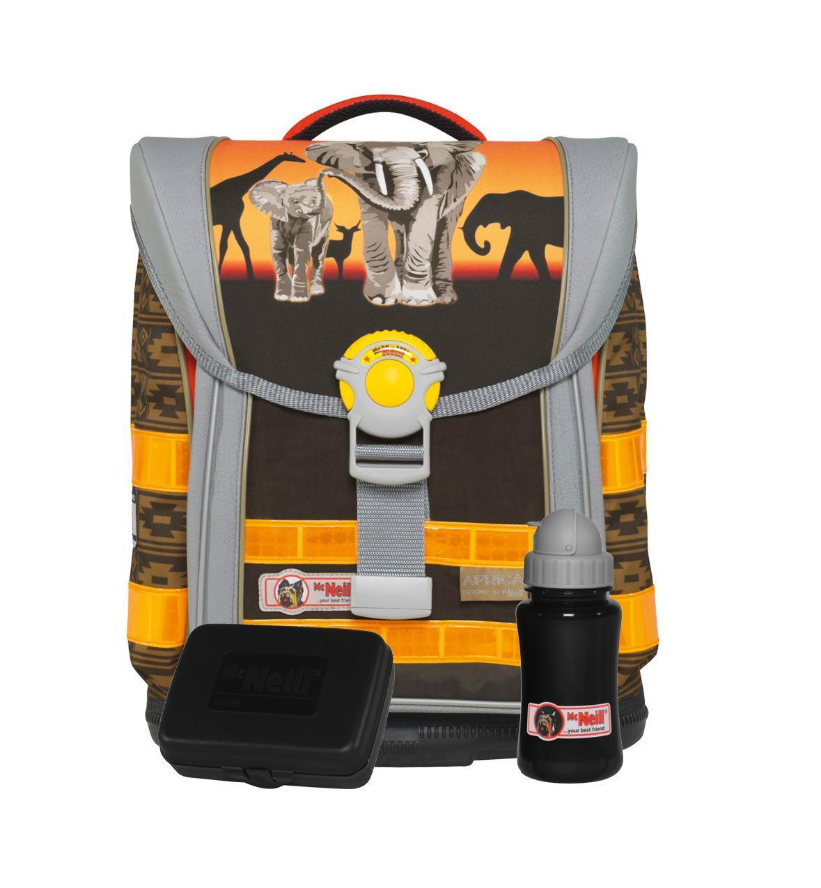 Рюкзак детский McNeill ERGO Light COMPACT Африка9560140000
