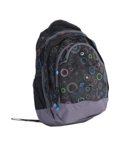Рюкзак детский BagMaster BM-NIE 13 ABM-NIE 13 AСтуденческий рюкзак из полиэстера с тремя внутренними отделениями и отделением для ноутбука с диагональю 15,4 дюйма. Во внутренние отделения помещаются альбомы, тетради, контурные карты и так далее формата А4. Анатомическая спинка из воздухопроницаемого м