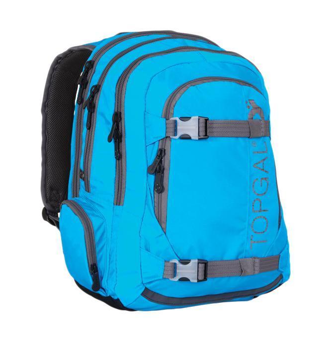 Рюкзак детский TOPGAL HIT-812 / DHIT-812 / DСтуденческий рюкзак эргономичной формы с анатомической спинкой и тремя основными отделениями. Задняя часть армирована легкой алюминиевой рамкой. Широкие и мягкие плечевые ремни легко регулируются. Нагрудный ремень для фиксации рюкзака. В заднее отделение
