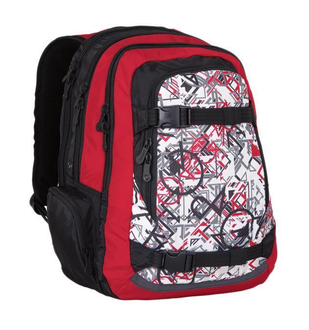 Рюкзак детский TOPGAL HIT-812 / GHIT-812 / GСтуденческий рюкзак эргономичной формы с анатомической спинкой и тремя основными отделениями. Задняя часть армирована легкой алюминиевой рамкой. Широкие и мягкие плечевые ремни легко регулируются. Нагрудный ремень для фиксации рюкзака. В заднее отделение