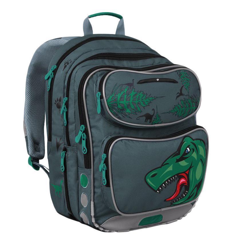 Рюкзак детский TOPGAL CHI-183 / CCHI-183 / CШкольный рюкзак с анатомической спинкой, которая не позволяет перегружать позвоночник ребенка. В комплект входит мешок для обуви и защитный чехол.