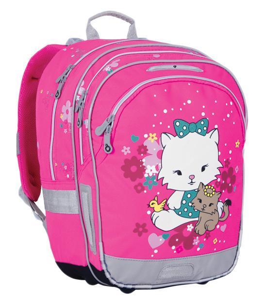 Рюкзак детский TOPGAL CHI-651 / HCHI-651 / HШкольный рюкзак с анатомической спинкой, которая не позволяет перегружать позвоночник ребенка.