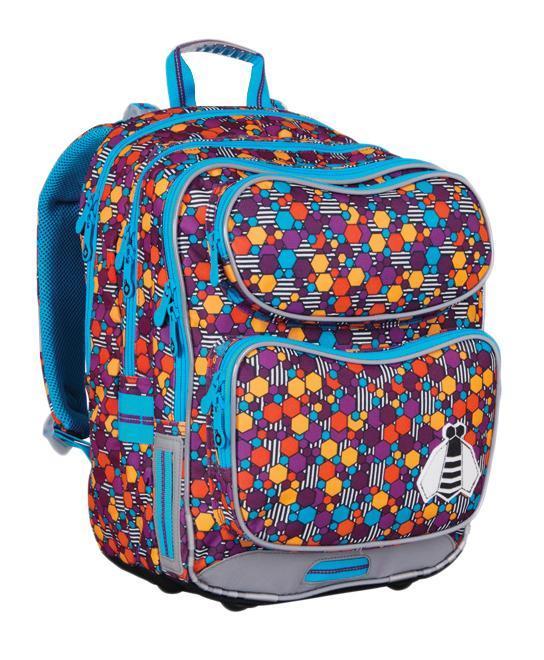 Рюкзак детский TOPGAL CHI-649 / ICHI-649 / IШкольный рюкзак с анатомической спинкой, которая не позволяет перегружать позвоночник ребенка. В комплект входит мешок для обуви и защитный чехол.