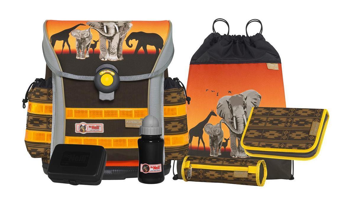 Рюкзак детский McNeill ERGO Light 912 Африка9577140000