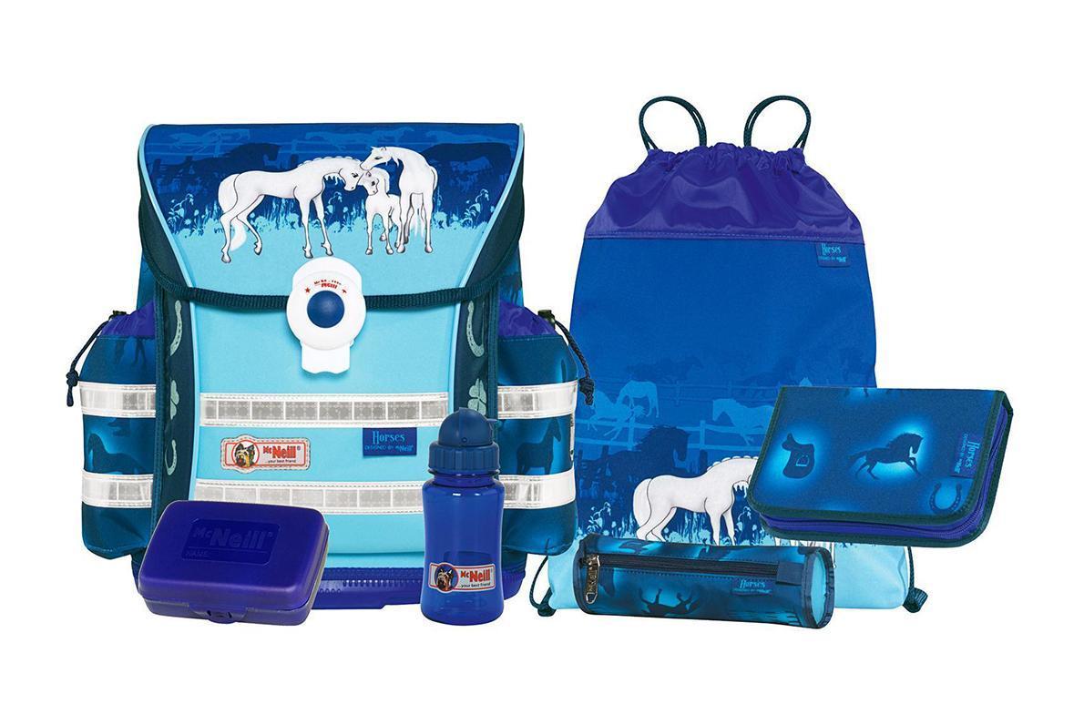 Рюкзак детский McNeill ERGO Light COMPACT Лошади9560142000