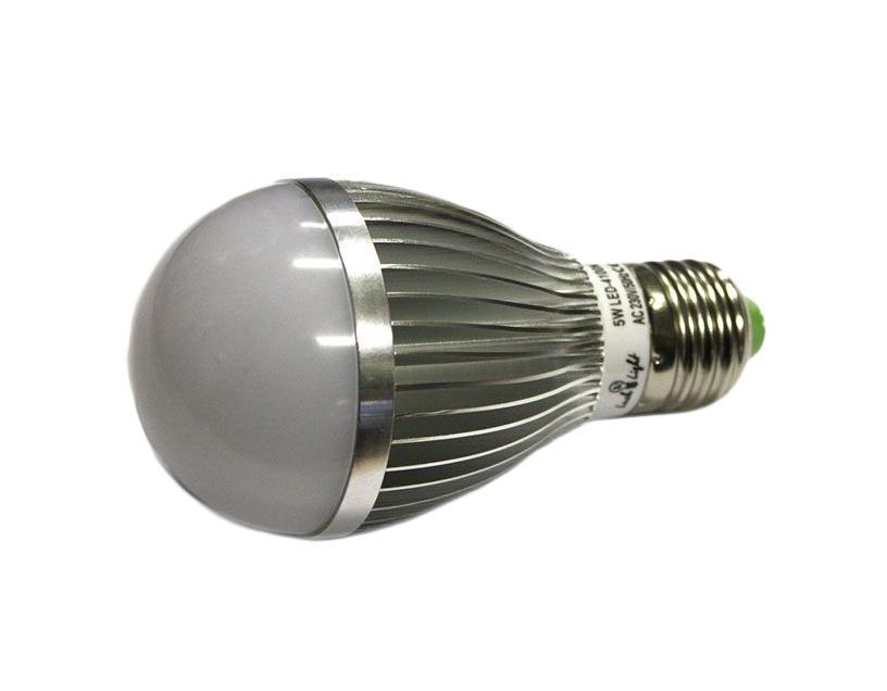 Светодиодная лампа Luck & Light, холодный свет, цоколь E27, 5W