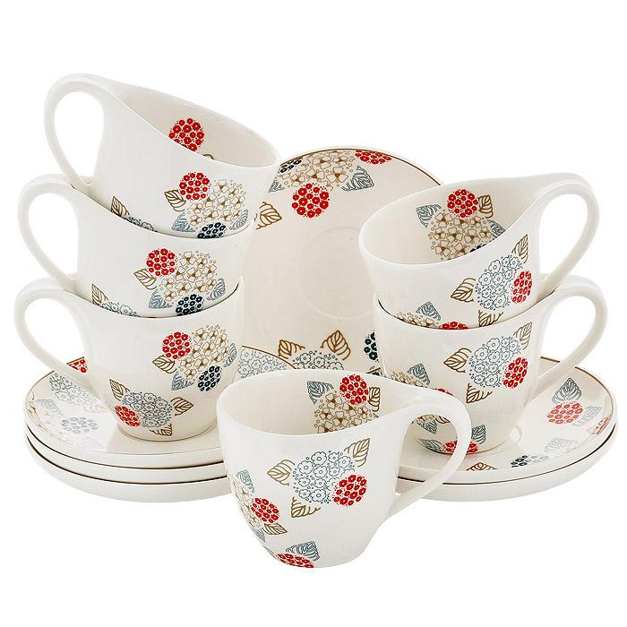Набор чайный Esprado Melary, 12 предметов