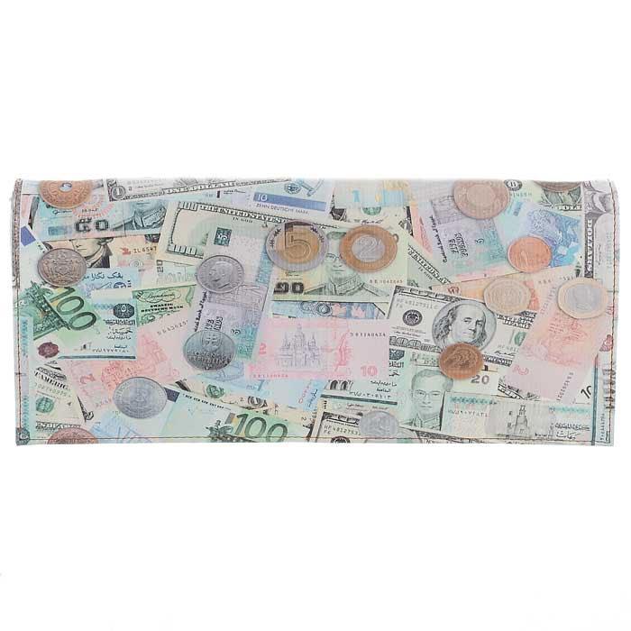 Клатч Flioraj, цвет: светло-коричневый. 10184-14/1070/20710184-14/1070/207 деньгиСтильный клатч Flioraj прямоугольной формы выполнен из искусственной кожи и оформлен изображением денежных купюр. Внутри - одно отделение, разделенное смежным карманом на застежке-молнии, и накладной карман для мобильного телефона. Клатч закрывается на застежку-молнию и сверху широким клапаном на магниты. В комплекте съемный плечевой ремень регулируемой длины и ремешок для запястья. Такой клатч станет стильным аксессуаром, который подчеркнет вашу изысканность и индивидуальность и сделает ваш образ завершенным. Характеристики: Размер клатча: 29,5 см х 14 см х 4,5 см.