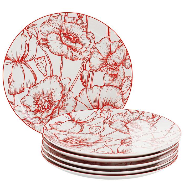 Набор десертных тарелок Esprado La Passion, диаметр 20 см, 6 штPS40D20E301Набор Esprado La Passion состоит из шести десертных тарелок, выполненных из высококачественного твердого фарфора. Особое качество твердый фарфор, из которого делается посуда Esprado, имеет благодаря использованию в его изготовлении специального материала - каолина. Каолин - это сорт белой глины, впервые открытый в Китае, который обладает идеальными для производства твердого фарфора свойствами, а именно высокой пластичностью и тугоплавкостью. Посуда из твердого фарфора имеет надглазурную роспись, которая отличается богатой цветовой палитрой, что позволяет воплощать самые яркие идеи. В процессе обжига при температуре в 800°С используется природный газ, а не уголь - это сохраняет глазурь чистой и прозрачной, а саму процедуру делает экологически чистой. Над созданием дизайна коллекций посуды из твердого фарфора Esprado работает международная команда высококлассных дизайнеров, не только воплощающих в жизнь все новейшие тренды, но также и придерживающихся многовековых...