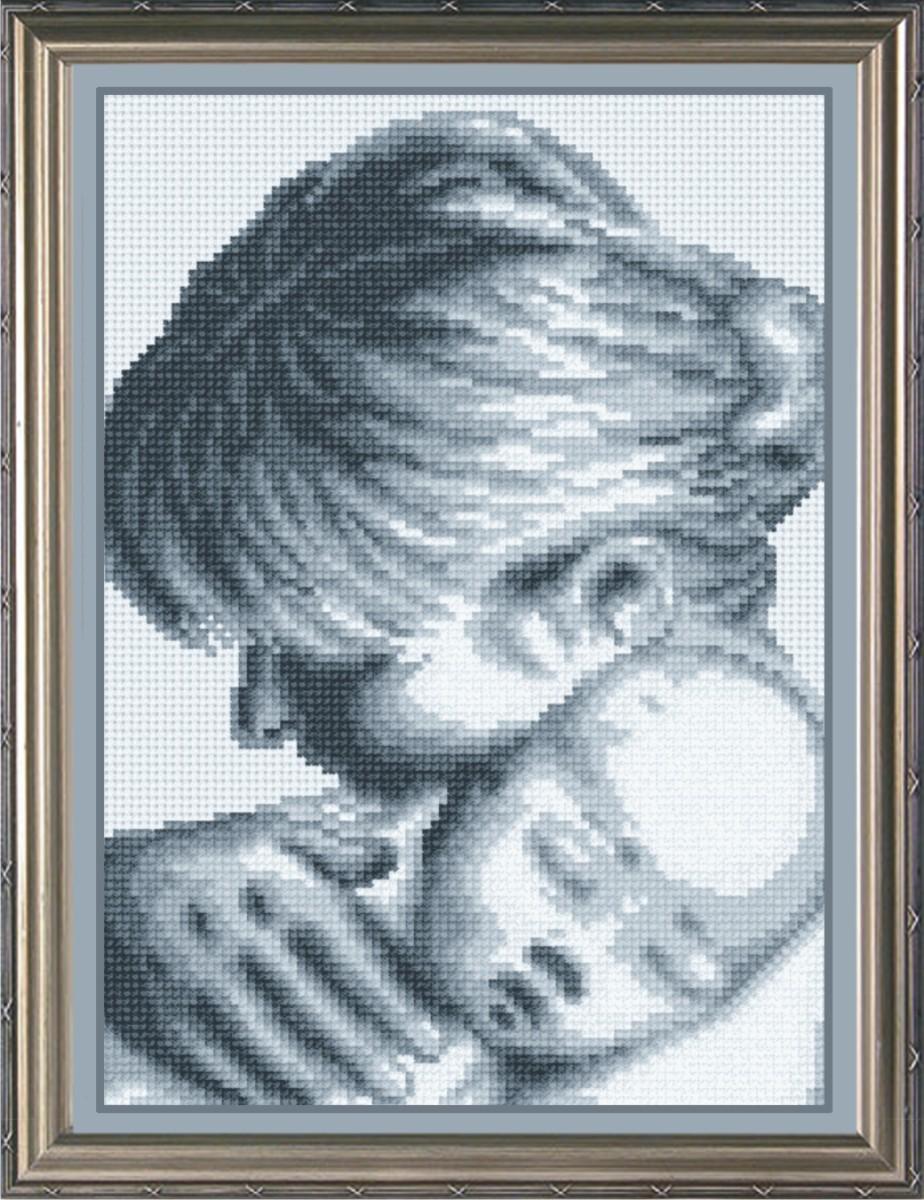 Набор для вышивания крестом М.П.Студия Мой малыш, 18 х 24 см НВ-105277007