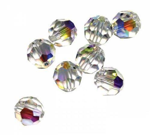 Бусины Swarovski Elements, цвет: прозрачный, 8 мм, 10 шт. 389022