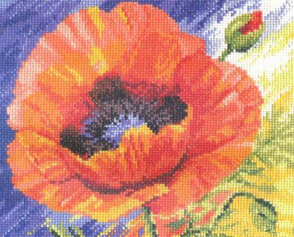 Набор для вышивания крестом Поцелуй лета, 20 см х 18 см. 661048661048Набор для вышивания Поцелуй лета поможет вам создать свой личный шедевр - красивую картину, вышитую крестом в технике счетный крест. Работа, выполненная своими руками, станет отличным подарком для друзей и близких! Набор содержит: - белая канва Aida (хлопок), - нитки мулине - 23 цвета (хлопок), - игла, - схема для вышивания, - инструкция на русском языке.