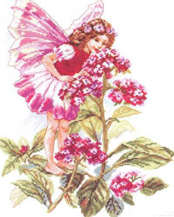 Набор для вышивания крестом Принцесса лета, 27 x 34 см661098