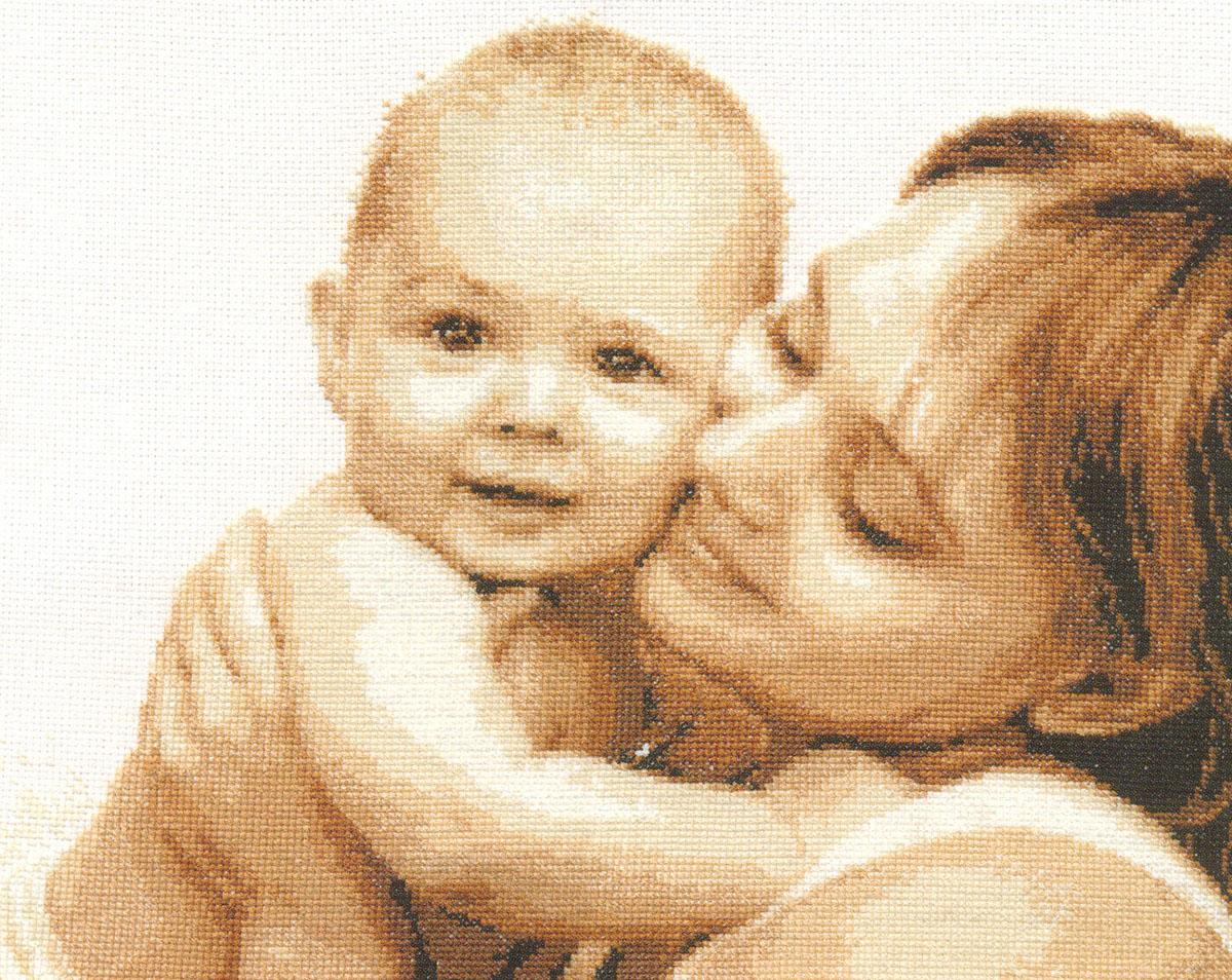 Набор для вышивания крестом Мой малыш, 33 x 27 см661181