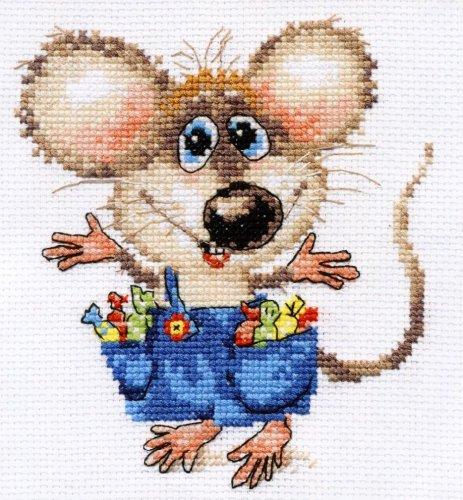 Набор для вышивания крестом Алиса Будет праздник!, 12 см х 13 см661188