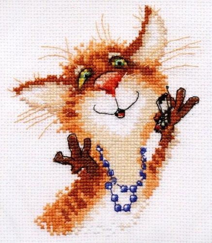 Набор для вышивания крестом Алиса Алло-о!, 12 см х 13 см661190