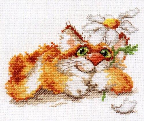 Набор для вышивания крестом Алиса Мечтаю..., 14 см х 12 см661194