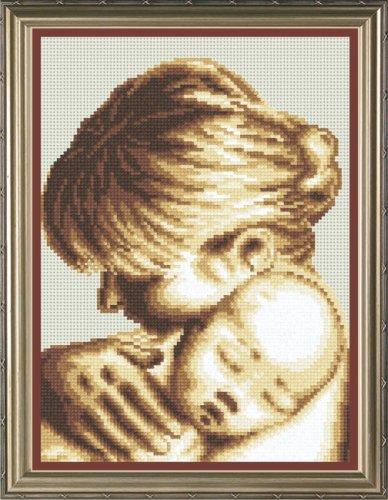 Набор для вышивания крестом М.П.Студия Мой малыш, 18 см х 24 см. НВ-139677041