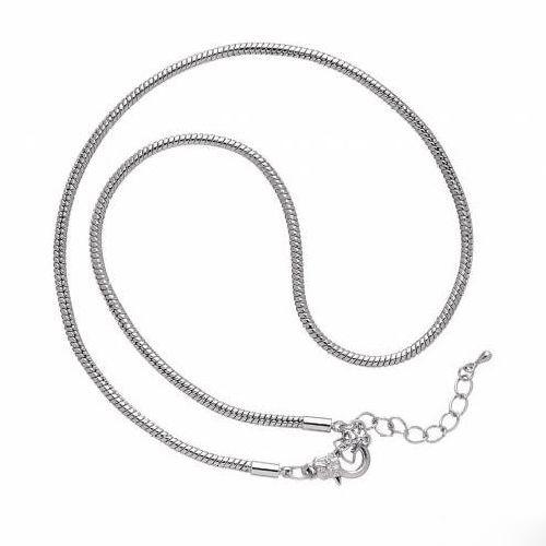 Основа для ожерелья Glorex, цвет: темное серебро, 45 см685298Основа Glorex, изготовленная из блестящего металла, предназначена для изготовления ожерелья. Оснащена карабином. Изготовление украшений - это занимательное хобби, это реализация творческих способностей рукодельницы, это возможность создания неповторимого индивидуального подарка.
