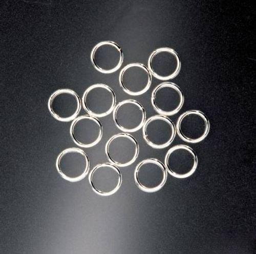 Кольца Glorex, цвет: серебряный, 6 мм, 15 шт685384Кольца Glorex позволят своими руками изготовить оригинальные ожерелья или браслеты. Изготовлены из металла. Изготовление украшений - это занимательное хобби, это реализация творческих способностей рукодельницы, это возможность создания неповторимого индивидуального подарка.