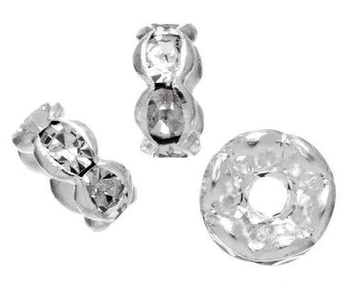 Рондели круглые Glorex, цвет: кристальный, 3 х 6 мм, 6 шт. 686807686807Рондели позволят своими руками изготовить оригинальные ожерелья или браслеты. Изготовлены из металла. Они станут отличным украшением для различных изделий. Изготовление украшений - это занимательное хобби, это реализация творческих способностей рукодельницы, это возможность создания неповторимого индивидуального подарка.