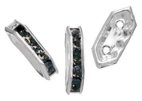 Рондели прямоугольные Glorex, цвет: черный янтарь, 2,5 х 11 мм, 5 шт686812Рондели позволят своими руками изготовить оригинальные ожерелья или браслеты. Изготовлены из металла. Они станут отличным украшением для различных изделий. Изготовление украшений - это занимательное хобби, это реализация творческих способностей рукодельницы, это возможность создания неповторимого индивидуального подарка.