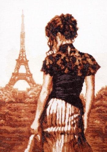 Набор для вышивания крестом Палитра Прогулка по Парижу, 26 см х 36 см690076Набор для вышивания Палитра Прогулка по Парижу поможет создать красиво вышитую картину. Рисунок-вышивка, выполненный на канве, выглядит стильно и модно. Вышивание отвлечет вас от повседневных забот и превратится в увлекательное занятие! Работа, сделанная своими руками, не только украсит интерьер дома, придав ему уют и оригинальность, но и будет отличным подарком для друзей и близких! Набор для вышивания содержит все необходимые материалы для вышивки на канве в технике счетный крест: - канва Aida №16 белого цвета без рисунка, - нитки мулине - 13 цветов, - игла Pony, - цветная символьная схема, - подробная инструкция на русском языке.