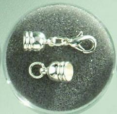Застежка Glorex, цвет: серебряный, 6 мм7704406Застежка Glorex позволят своими руками изготовить оригинальные ожерелья или браслеты. Изготовлена из металла. Изготовление украшений - это занимательное хобби, это реализация творческих способностей рукодельницы, это возможность создания неповторимого индивидуального подарка.