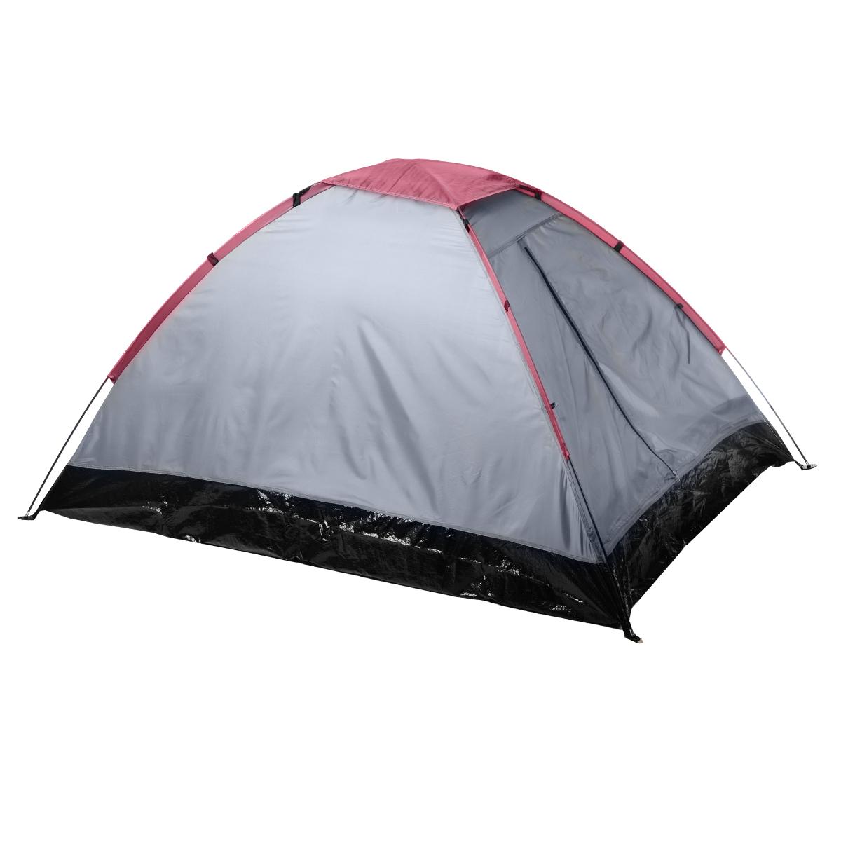 Палатка двухместная однослойная Reking, цвет: синий