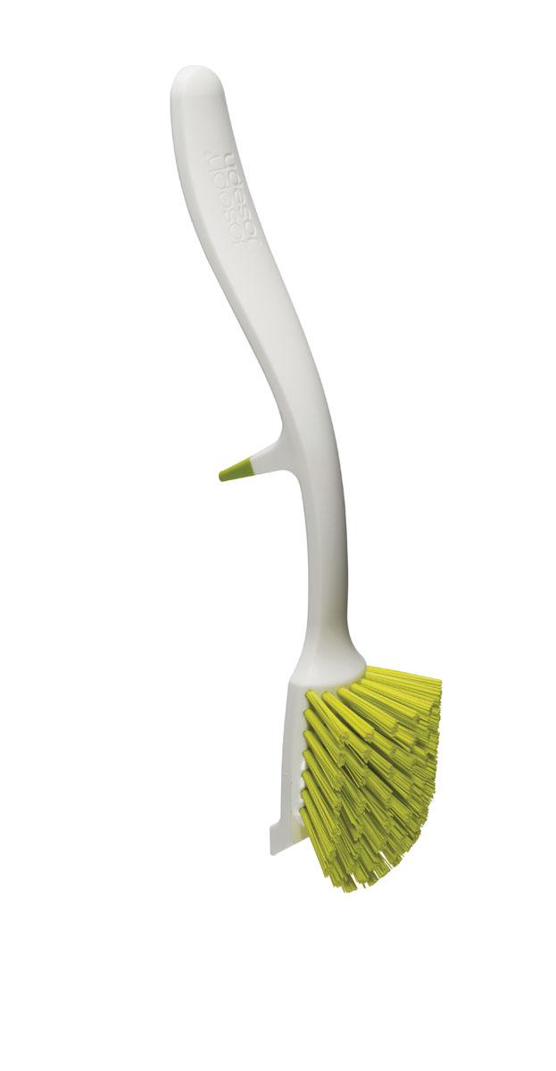 Щетка для мытья посуды Joseph Joseph Edge, цвет: белый, зеленый, длина 28 см85025