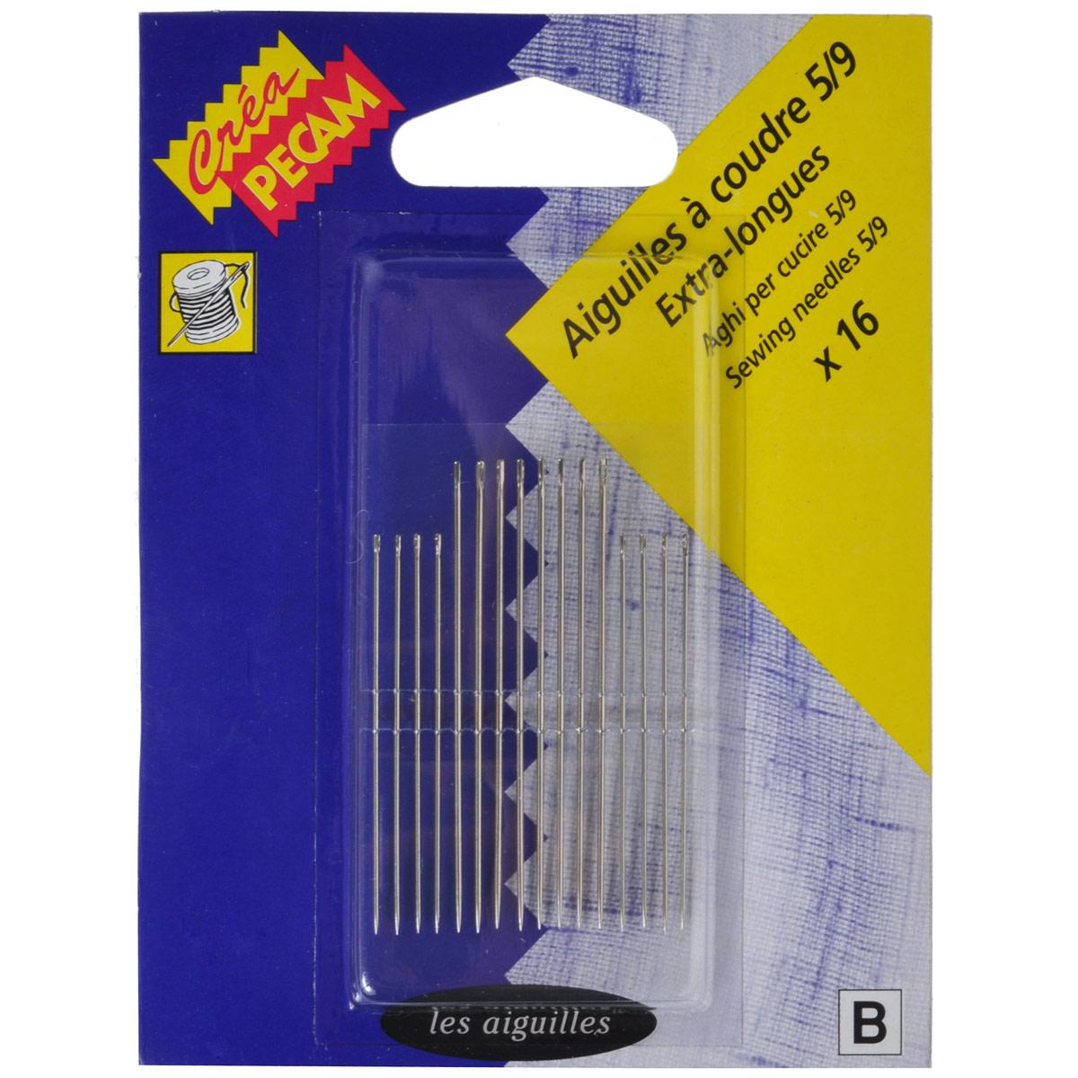 Набор игл для штопки Prym, 16 шт, № 5/9. 124669 - Prym124669Ручные иглы Prym, изготовленные из высококачественной стали, предназначены для штопки. Практичный набор из 16 игл для настоящей хозяйки.