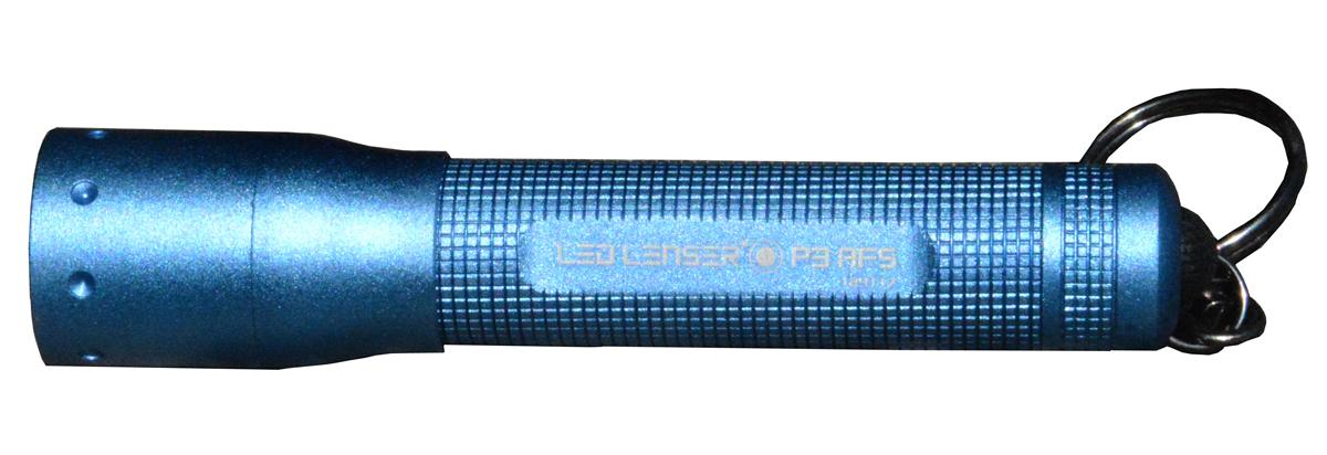 Фонарь LED Lenser P3-АFS, цвет: синий