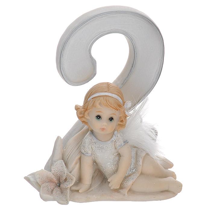 Статуэтка Molento Именинный ангелочек. 2 года514-955Статуэтка Molento Именинный ангелочек. 2 года, выполненная из полистоуна, станет отличным подарком для вашего малыша! Все мы знаем, как порой непросто бывает выбрать подходящий подарок к тому или иному торжеству, а декоративные статуэтки Molento всегда были и останутся оригинальным подарком. Этот вид сувенира нельзя назвать бесполезной вещью. Статуэтка может стать великолепным украшением интерьера. Статуэтка является подарком на все времена, подобная вещь никогда не выйдет из моды. Спустя годы она будет только радовать владельца своими изящными формами и плавными линиями.