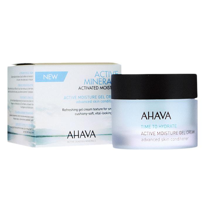 Ahava Крем-гель для лица Time To Hydrate, активный, увлажняющий, 50 мл ahava набор duo deadsea mud набор дуэт