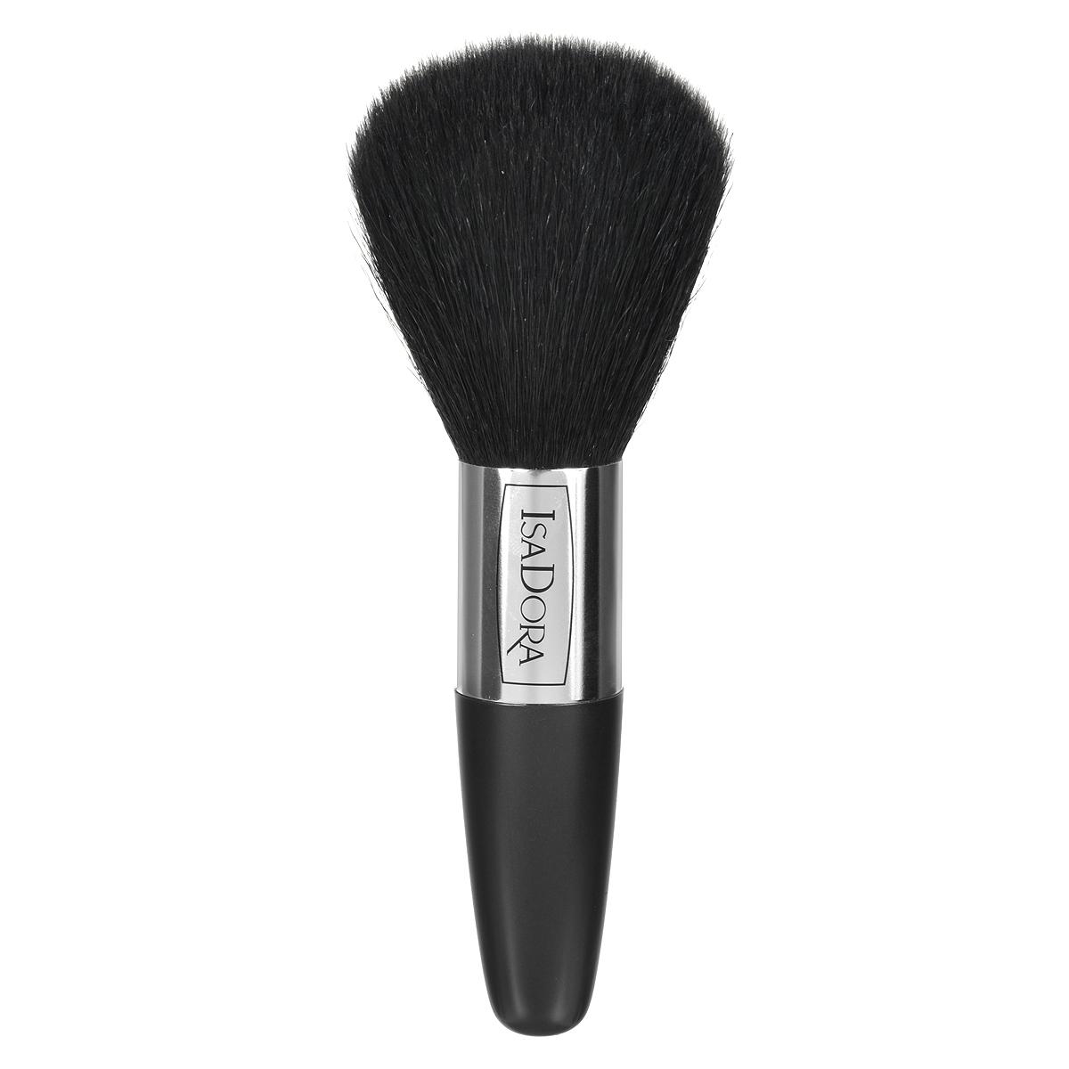 Isa Dora Кисть для бронзирующей пудры Bronzing Powder Brush119246Кисть Isa Dora Bronzing Powder Brush - большая, округлой формы с удобной толстой ручкой, подходит для нанесения компактной и рассыпчатой пудры. Кисть позволяет корректировать макияж в течение дня, обеспечивает безупречное распределение пудры на коже, комфортное, аккуратное и равномерное нанесение. Кисть изготовлена из 100% натурального ворса, стерилизованного в процессе производства. Основная поверхность кисти имеет округлую форму, каждый волосок скруглен и не повреждает нежную кожу лица. Ручка кисти сделана из высококачественного пластика. Товар сертифицирован.